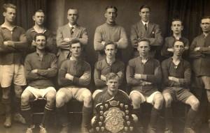 Rye Team - Winners of the Dewar Challenge Shield