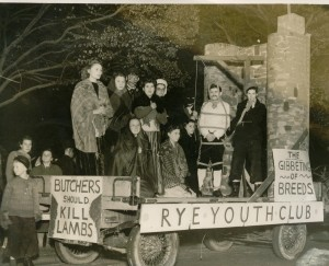 Rye Youth Club Entry Just after the War