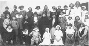 School Play at Lion Street School 1936-37