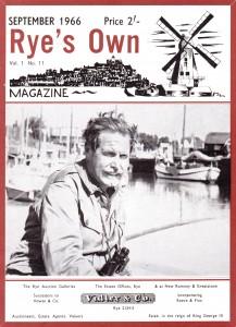 September 1966 Cover with Major Oliver Kite