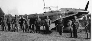 Stuka Dive Bomber  brought down 31 August 1940