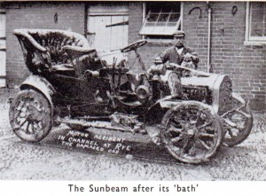Sunbeam After Dip in The Strand