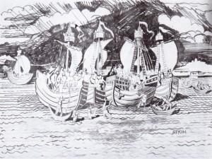 The Battle of Rye Bay