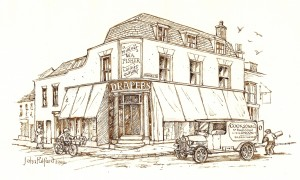 The Shop as it would have looked in the early 1920s