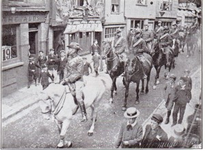 Captain Cory Leading Sussex Yeomanry