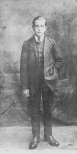 Fred Jordan in Teenage Days