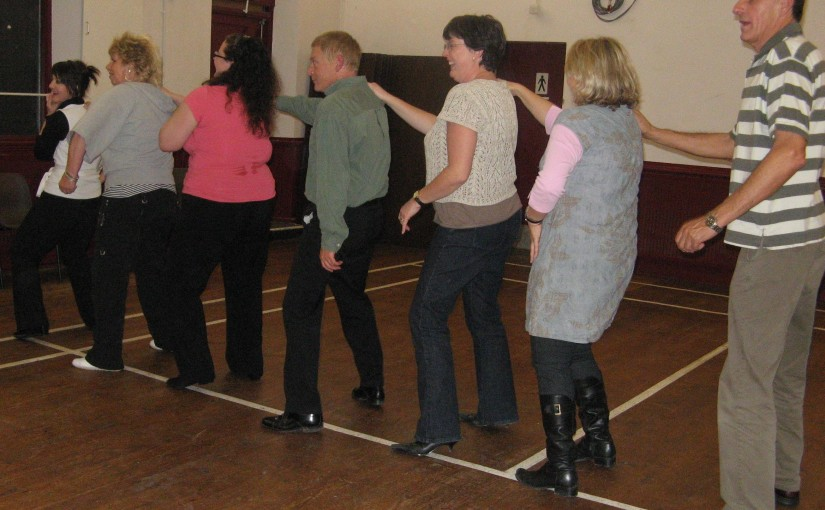 Dancing Craze Hits Rye