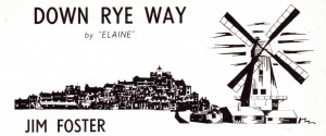 Down Rye Way - Jim Foster