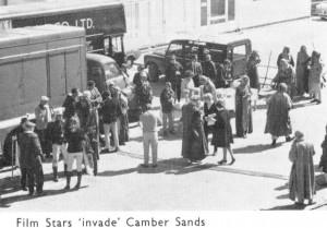 Film Stars Invade Camber