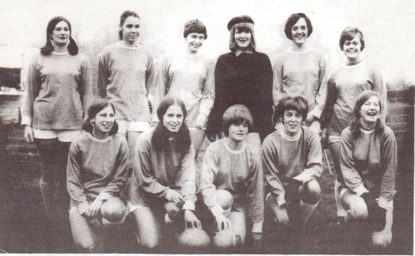 Iden Ladies V Eastbourne Ladies 1969