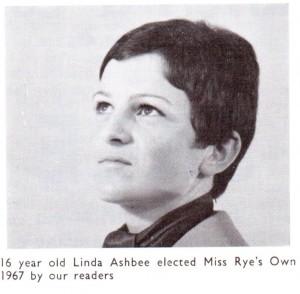 Linda Ashbee - Miss Rye's Own 1967