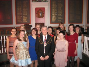 Pre-Christmas Reception with the Mayor of Rye Councillor John Breeds