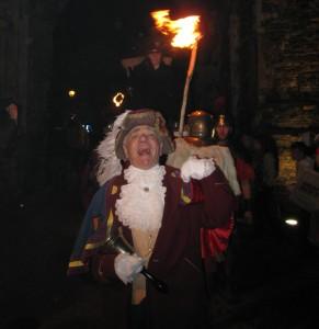 Rex Leading the Way on Bonfire Night 2008