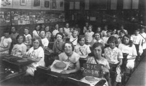 Rye Girls Class Four Lion Street School 1931