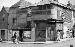 Bannisters Corner as it was in 1945
