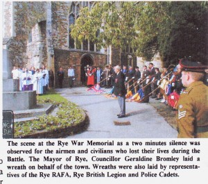 Battle of Britain Service   Ryes Own  October 2000
