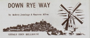 Down Rye Way  -  Gerald Eden Bellhouse