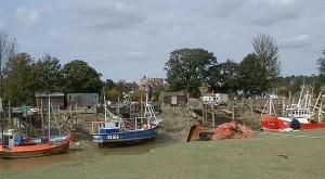 Fishing Boats at Rye