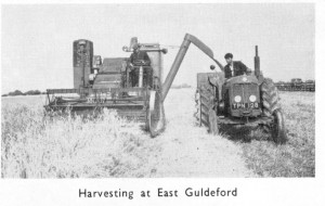 Havesting at East Guldeford