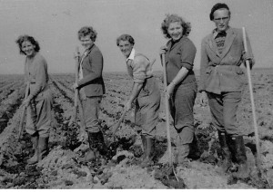 Ivy Barden, Ivy Choates, Phyllis Leadbetter, Maureen Gasson