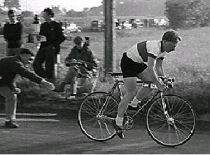 Michael Ashdown sets off in the Hastings Club's 25 c.1968