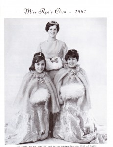 Miss Rye's Own 1967 with her attendents