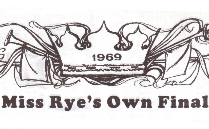 Miss Rye's Own Finalists 1969