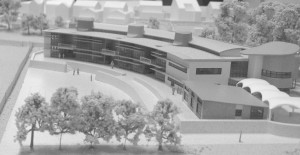 Model of the Proposed New Primary School