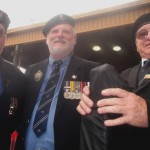 Proud Diggers show off their medals.
