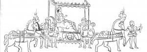 Queen Elizabeth I visit to Rye 1573