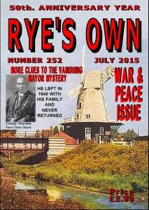 RYE COVER JULY 2015