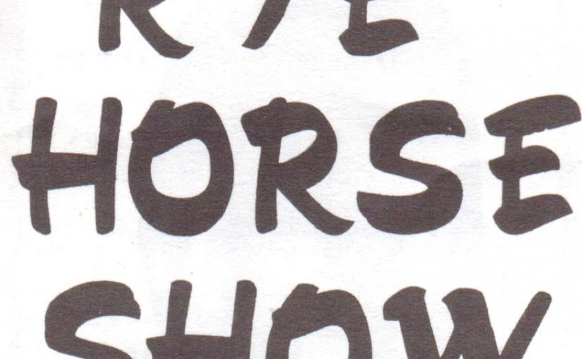 Rye Horse Show 1967