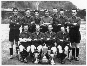 Rye United Second Team 1954-55 season