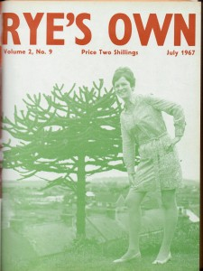 Rye's Own July 1967 Cover Girl