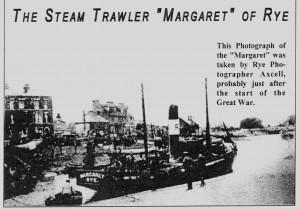 The Steam Trawler Margaret