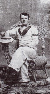 Harry Riddle in Navel Uniform around the time of the battle with Emden
