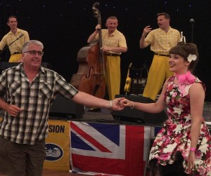 Dancing to the Jive Aces at the War & Peace Revival