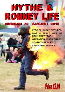 Hythe & Romney Life August 2015. Lydd Club Day etc.