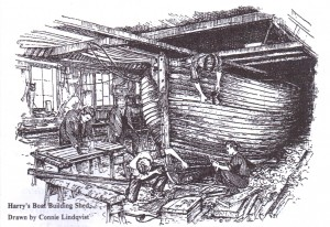 Harry's Boat Building Shed