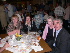 Michael Breeds, brother of John Breeds with wife Brenda and Geraldine