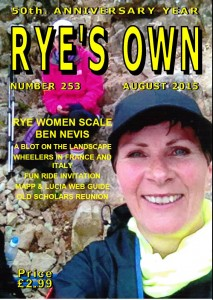 RYE'S OWN COVER AUGUST