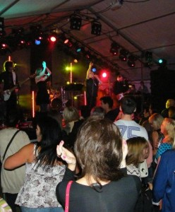 Rockitmen on Stage