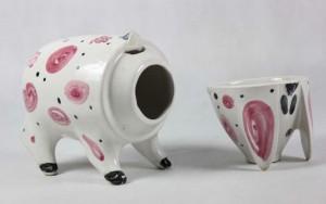 Rye Pottery Pig