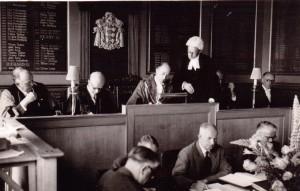 Alf Horner is Sworn In as Mayor of Rye 1959