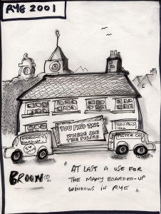 Copy of Police Cartoon by 'Broon'