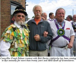 East Sussex Morris with Councillor Palmer
