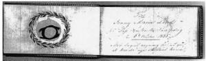 Jenny Lind Autograph Book