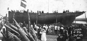 Launch of the Pentire