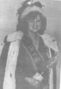 Rye Carnival Queen 1980. Selia Boetius-Miles
