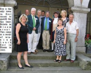Rye's Britain in Bloom Team